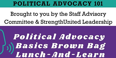 Political Advocacy 101, and Hot Topic Conversations tickets