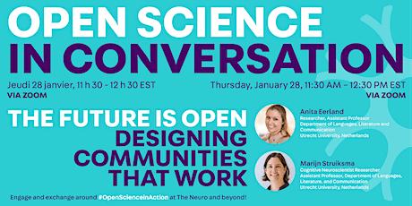 Open Science In Conversation Webinar tickets