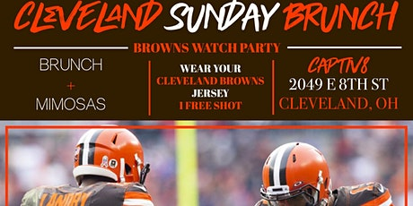 MA HOST: CLEVELAND SUNDAY BRUNCH+ BROWNS WATCH PARTY tickets