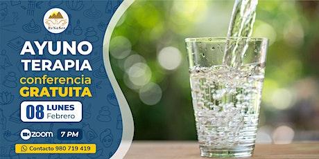AYUNO TERAPIA - Conferencia Gratuita entradas