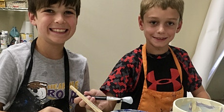 Summer Pottery and Art Camp:  Session 7 tickets
