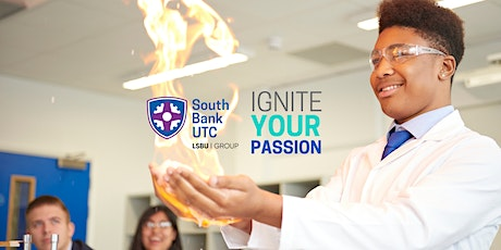 September  2021 Entry- April virtual open evening by  South Bank UTC tickets
