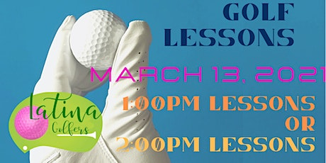 Latina Golfers Beginner Golf Lessons ( 1:00pm or 2:00pm series ) tickets