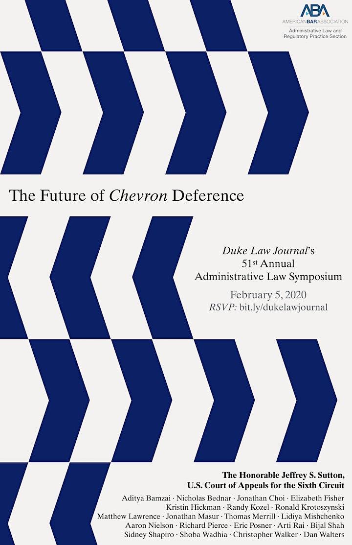 Duke Law Journal Administrative Law Symposium: The Future of Chevron image