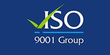 ISO 9001:2015 QMS Fundamentals Training tickets