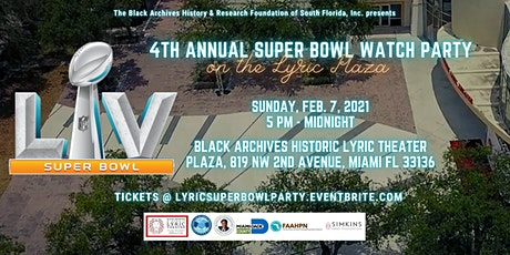 4th Annual Super Bowl Watch Party on the Lyric Plaza tickets