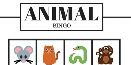 Chocolate Bar Bingo - Animal Theme - 4:00 PM tickets
