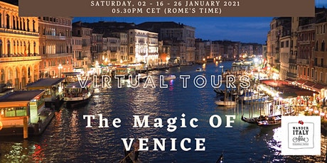 The Magic of VENICE Virtual Tour tickets