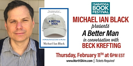 Saratoga Book Festival Online: Michael Ian Black in Conversation tickets