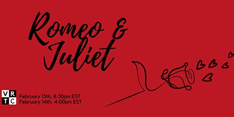Romeo and Juliet performed by the Virtual Repertory Theatre Collective tickets