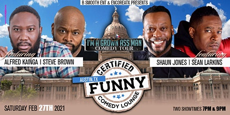 "ATX Certified ""Funny"" Comedy Lounge w/ I am A Grown Ass Man Comedy Tour tickets"