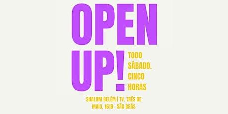 GRUPO DE JOVENS SHALOM OPEN UP! | SÁBADO 17H | CEV SÃO BRÁS ingressos