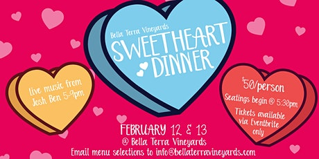 Sweetheart Dinner at BTV! tickets