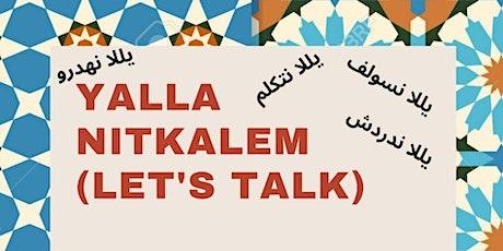 Yalla Nitkalem (Let's Talk) Spring 2021 Series tickets