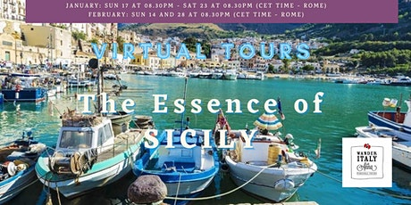 The Essence of SICILY Virtual Tour tickets