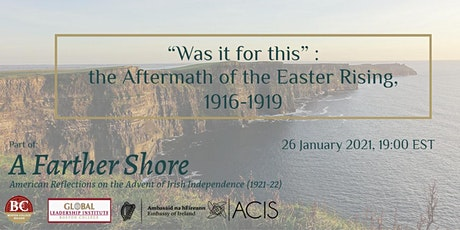 """Was it for this"": the Aftermath of the Easter Rising, 1916-1919 tickets"
