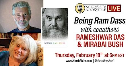 "Northshire Live: ""Being Ram Dass"" with authors Rameshwar Das & Mirabai Bush tickets"