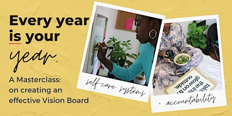 With Ease & Grace: Creating & Implement Your 2021 Vision Board tickets