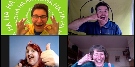 Laughter Yoga - Laugh your way to Happiness and Joy - Tuesday 7pm - online tickets