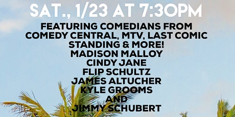 Sunshine State Comedy at Gatsby's Joint tickets