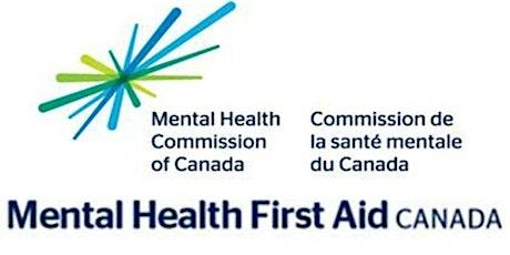 Mental Health First Aid Virtual tickets