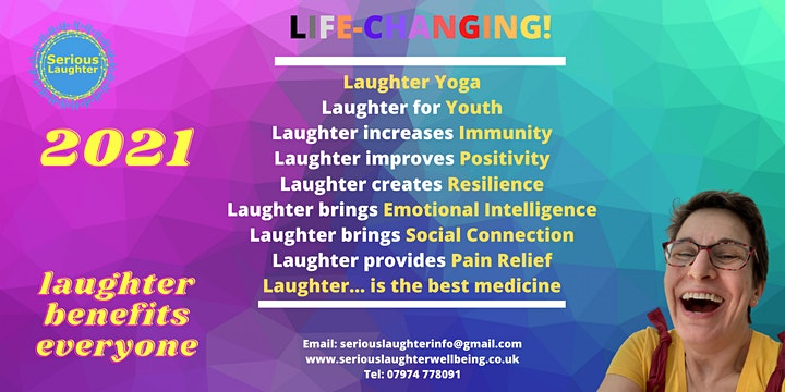 Morning Laughter Yoga on World Laughter Day at 9.00am image