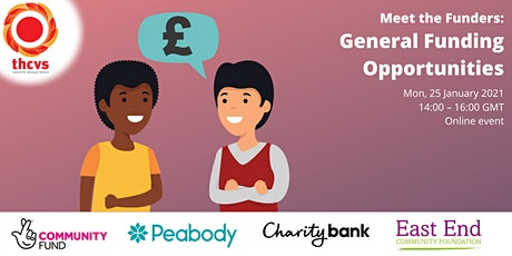 Meet the Funders Event - General Funding Opportunities tickets