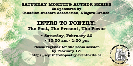 Intro to Poetry: The Past, The Present, The Power tickets