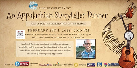 An Appalachian Storyteller Dinner tickets