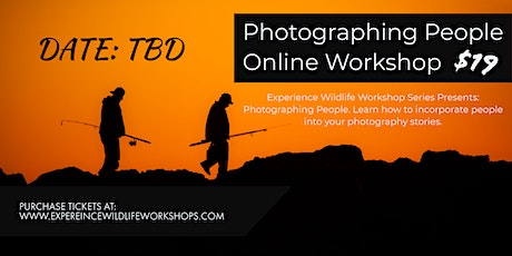Photographing People Online Workshop tickets