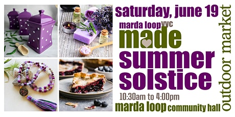 Marda Loop YYC MADE Summer Solstice OUTDOOR Market billets