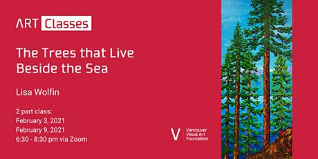 The Tress that Live Beside the Sea Art Class tickets