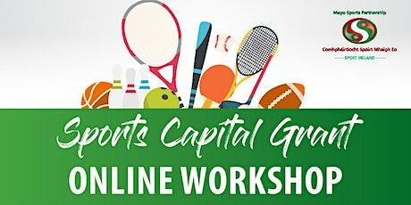 Sports Capital Information Workshop tickets