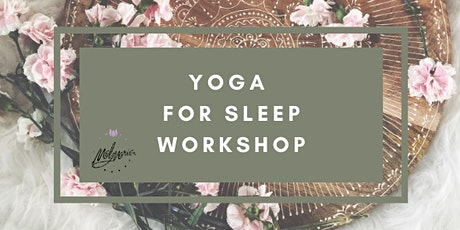 Yoga for Sleep tickets