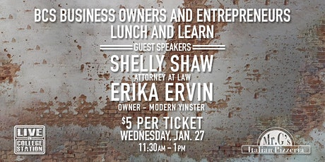 BCS Business Owners and Entrepreneurs Meetup tickets