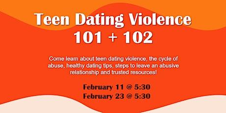 YWCA San Antonio Teen Dating Violence 101 + 102 tickets