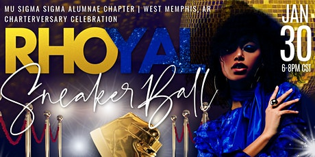 VIRTUAL RHOYAL SNEAKER BALL CHARTERVERSARY CELEBRATION tickets