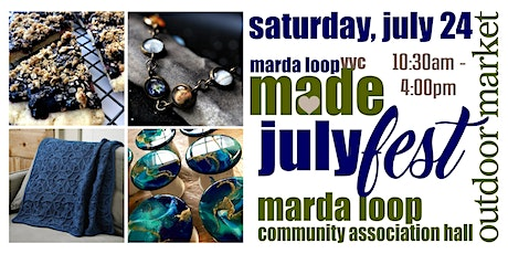 Marda Loop YYC MADE JulyFest OUTDOOR Market tickets