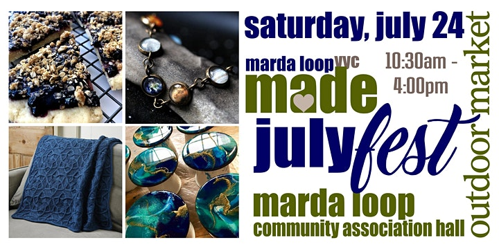 Marda Loop YYC MADE JulyFest OUTDOOR Market image