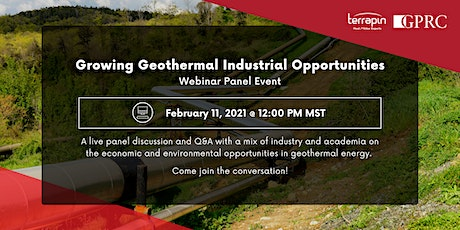 PANEL: Growing Geothermal Industrial Opportunities tickets