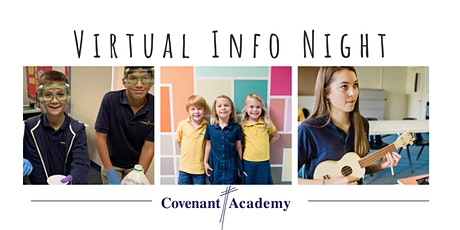January 25 Virtual Info Session with Covenant Academy tickets