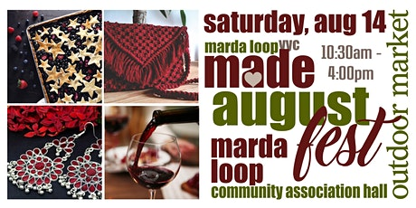 Marda Loop YYC MADE AugustFest OUTDOOR Market tickets