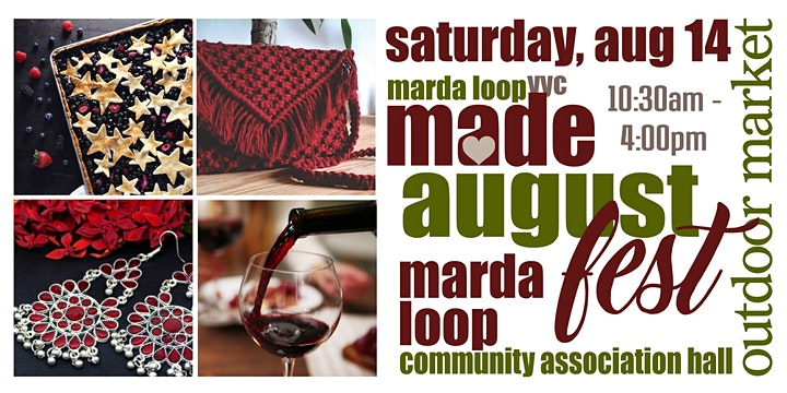 Marda Loop YYC MADE AugustFest OUTDOOR Market image