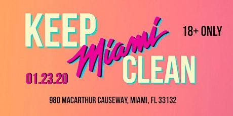 MacArthur Causeway Cleanup tickets