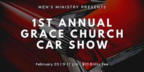 1st Annual Grace Church Car Show tickets