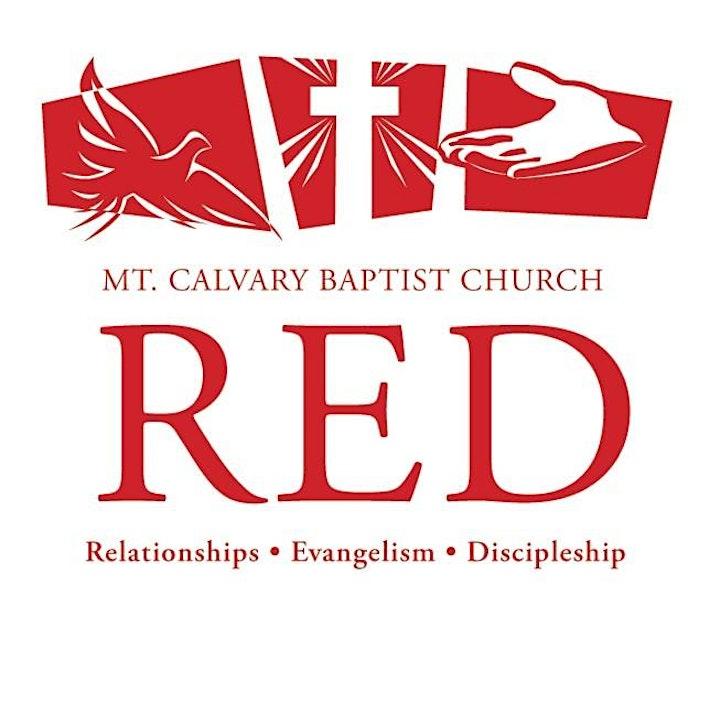 Mount Calvary Baptist Church Virtual Sunday Worship Service image