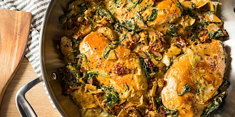 Homemade Events:  FREE Tuscan Chicken with Roasted Fingerling Potatoes billets