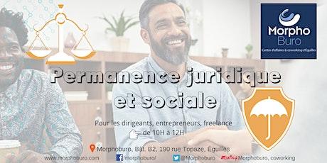 Permanence Juridique et Sociale pour dirigeants, entrepreneurs, freelance tickets
