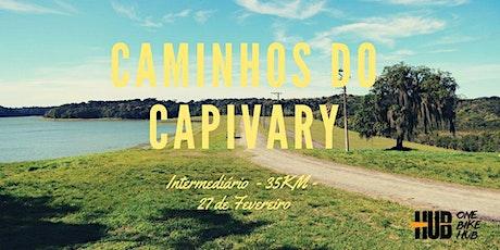Caminhos do Capivary - 35 km - Intermediário ingressos