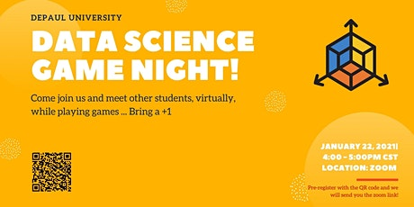 DePaul Data Science Game Night tickets